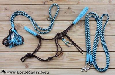 SET - Touwhalster, teugels & neckrope + GRATIS BASIC TOUWHALSTER