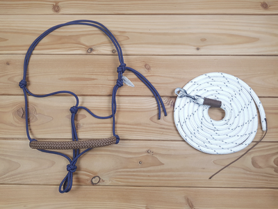 SET - Ropehalter (FREE) & leadrope 3.75m